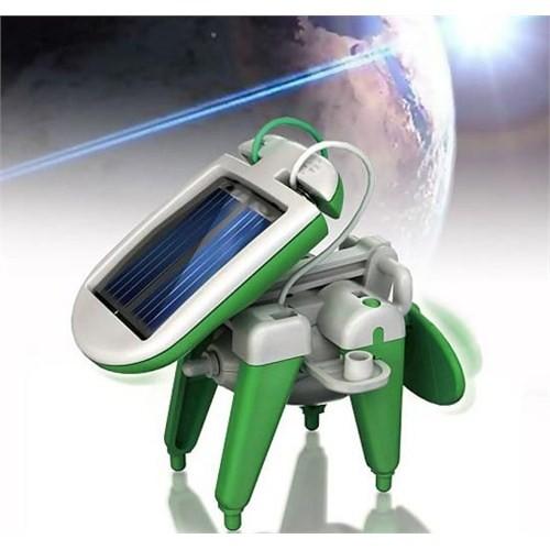 Güneş Enerjili Robot Kit ( 6 in 1 Robot Kits )