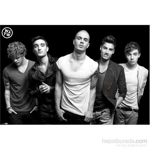 The Wanted Black & White Maxi Poster