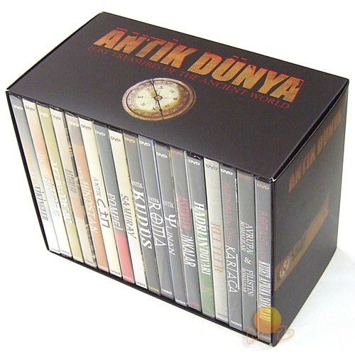 Antik Çağ Belgeselleri DVD Box Set (17 DVD)