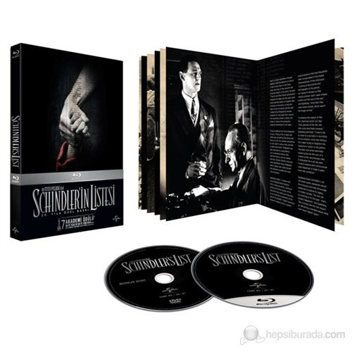 Schindler's List (Schindler'in Listesi) (Blu-Ray Disc)