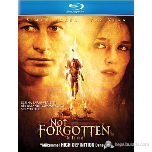 Not Forgotten (Sır Perdesi) (Blu-Ray Disc)
