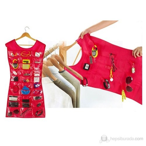 Practika Hardymix Elbise Şeklinde Takı-Mücevher Organizeri