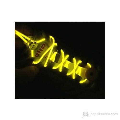 Pratica Işıklı Fiber Optik Ayakkabı Bağcığı