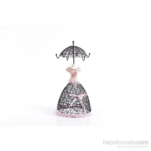 Matmazel Şemsiyeli Takılık - Pudra