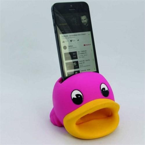 Giftpoint Iphone Ses Yükseltici +30 Desibel Ses Duck Pembe
