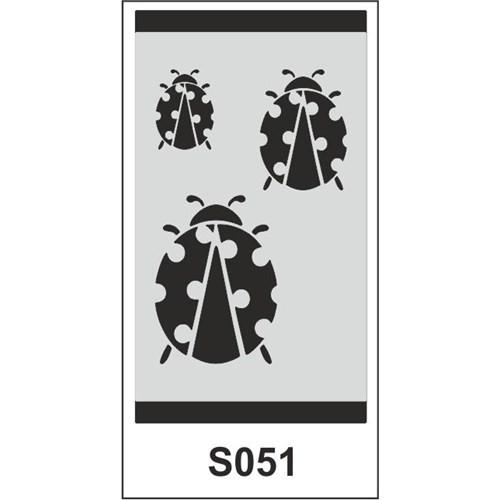 Atadan Hobi Sanatsal -Stencil S-Serisi (9 X 15 Cm)