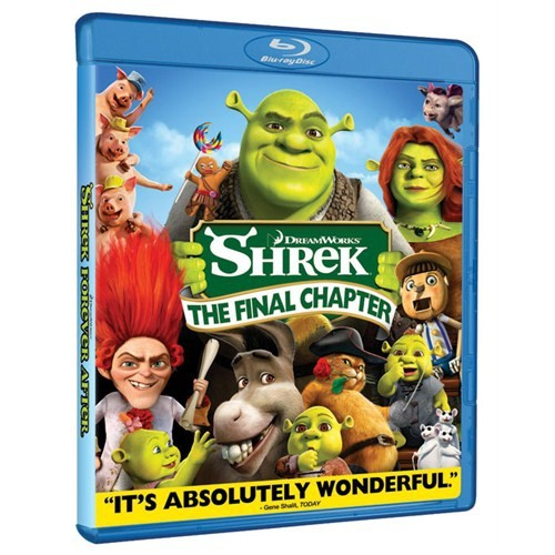 Shrek Forever After - The Final Chapter (Şrek Sonsuza Dek Mutlu - Son Bölüm) (Blu-Ray Disc)