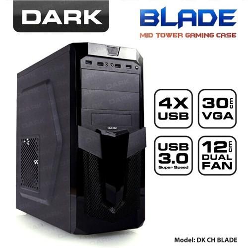 Dark Blade USB 3.0 SSD Ready ATX Siyah Oyuncu Kasası (DKCHBLADE)
