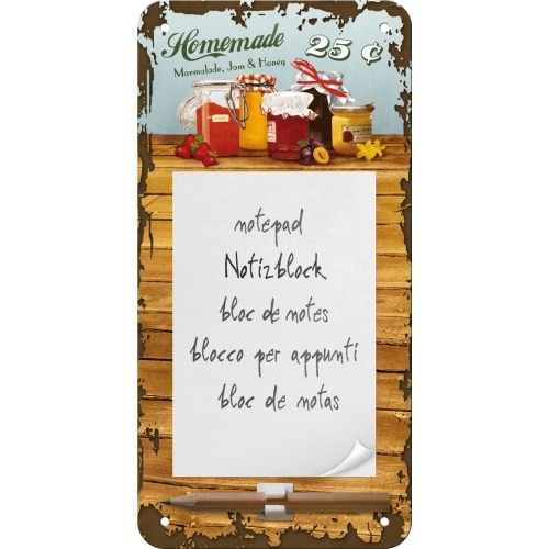 Nostalgic Art Homemade Marmalade Magnetli Not Defteri
