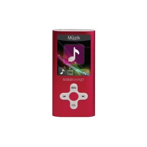 """Goldmaster MP4-224 1.8"""" 8GB Kırmızı Mp3/Mp4 Player"""