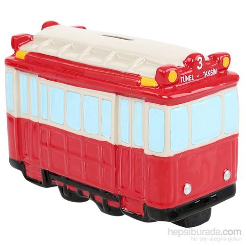 Tramvay Seramik Kumbara
