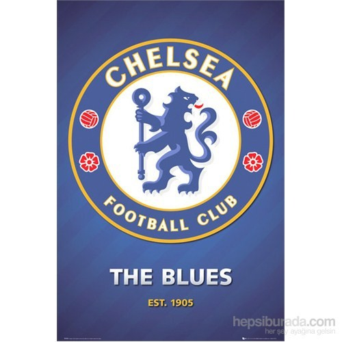 Chelsea Club Crest Maxi Poster