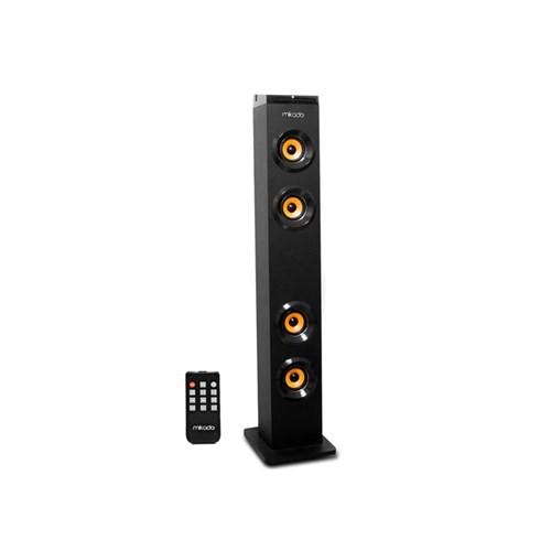 Mikado MD-2014 Siyah Usb + FM Destekli Bluetooth Kule Multimedia Speaker