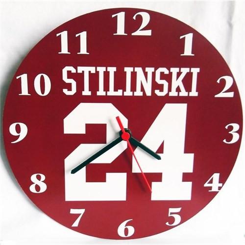 Köstebek Teen Wolf - Stilinski 24 Duvar Saati Ahşap Duvar Saati