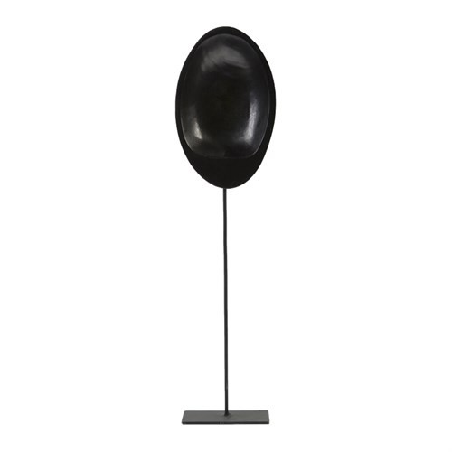 Yargıcı El Yapımı Maske Figürlü Dekoratif Obje ( 5 X 14 X 53 Cm )