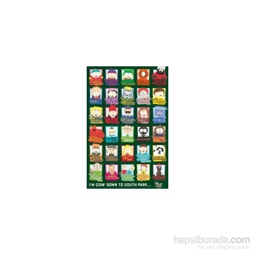 Maxi Poster South Park Quotes