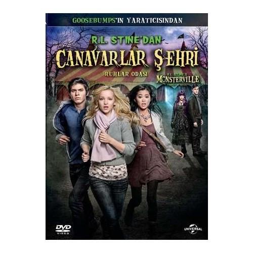 R.L. Stine's Monsterville:The Cabinet of Souls (Canavarlar Şehri:Ruhlar Odası) (DVD)