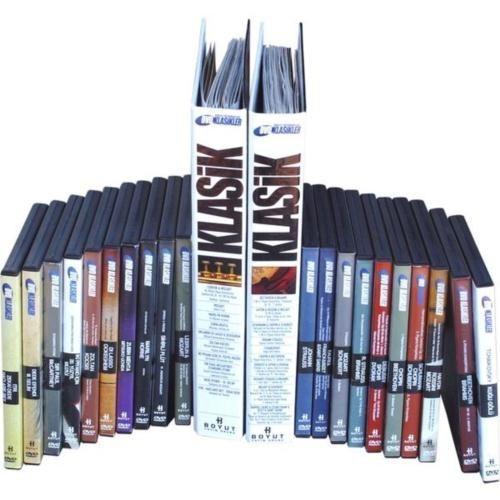 DVD Klasikler Klasik Müzik Seti (20 DVD + 20 Fasikül)