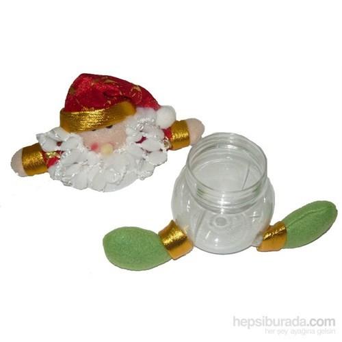 Noel Baba Hediyelik Kavanoz Süs