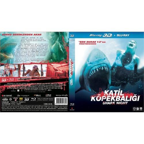 Shark Night (Katil Köpekbalığı) (3D + Blu-Ray)