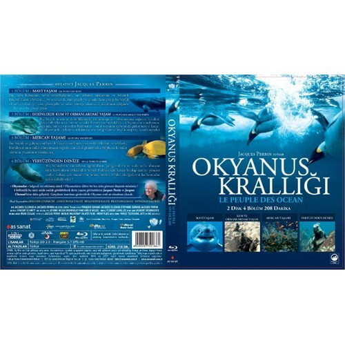 Le Peuple Des Oceans (Okyanus Krallığı) (Blu-Ray Disc)