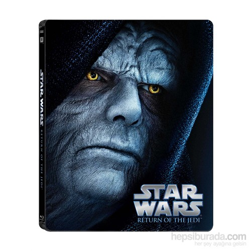 Star Wars Ep. VI Return Of The Jedi Limited Edition Steel Book ( Blu- Ray Disc)