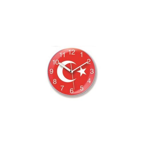 Time Gold Mıknatıslı Buzdolabı Saati Bayrak