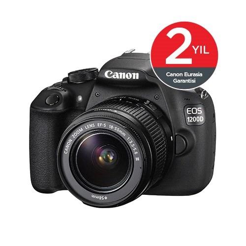 Canon Eos 1200D 18-55 mm DC Profesyonel Dijital Fotoğraf Makinesi