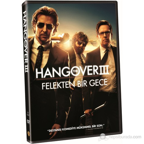Hangover 3 (Hangover 3: Felekten Bir Gece 3) (DVD)