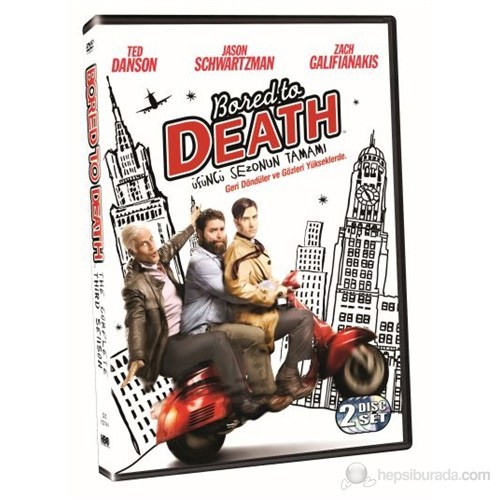 Bored To Death Season 3 (Bored To Death Sezon 3) (DVD) (2 Disc)