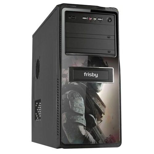 Frisby FC-A8817-G3 350W USB Siyah 3D Resimli Kasa