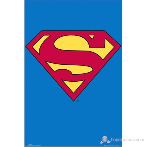 Superman Classic Logo Maxi Poster