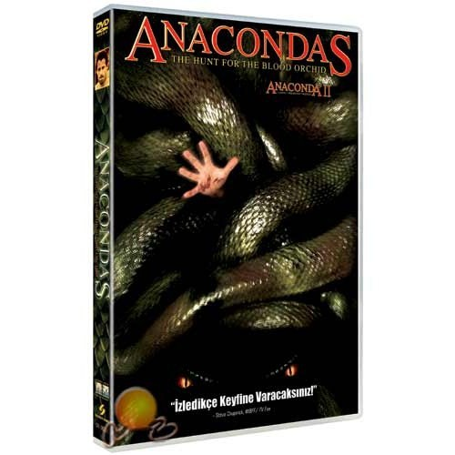 Anacondas: The Hunt For The Blood Orchid (Anaconda 2:lanetli Orkidenin Peşinde) ( DVD )