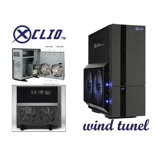Xclio Wtbk Wınd Tunnel Siyah Süper Tower Kasa