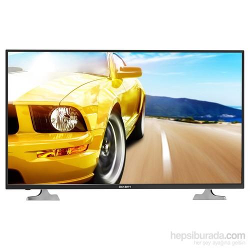 """Axen 39"""" 100 Ekran Dahili Uydu Alıcılı USB Movie LED TV"""