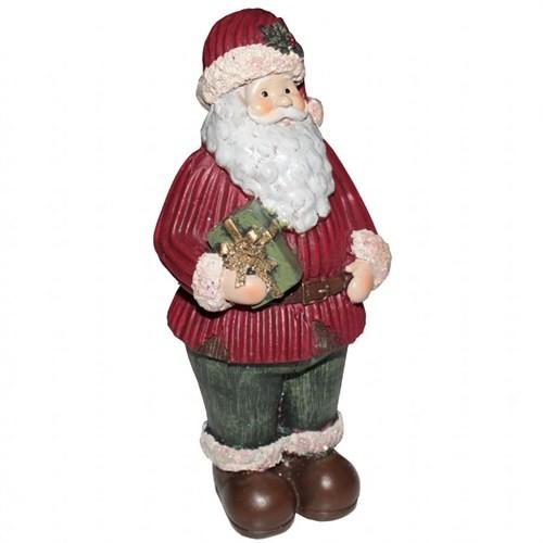 Hediye Paketli Dekoratif Noel Baba Yılbaşı Biblosu