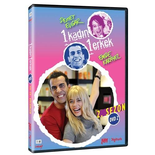 1 Kadın 1 Erkek Sezon 2 DVD 2