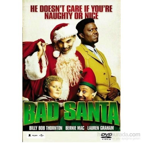 Bad Santa (Yeni Yıl Soygunu) (DVD)