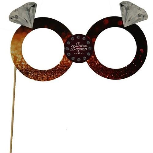 Pandoli Darısı Başıma Konuşma Gözlük Pankart