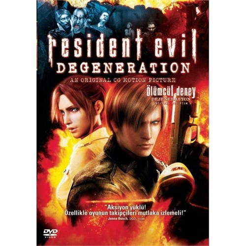 Resident Evil Degeneration (Ölümcül Deney: Dejenerasyon) (DVD)