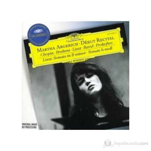 Martha Argerich - Debut Recital Chopin Brahms Liszt Ravel Prokofiev