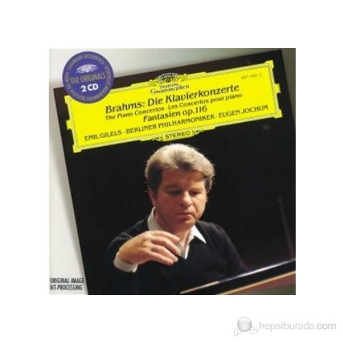 Emil Gilels - Brahms: Piano Concertos Nos:1 And 2 (2 Cd)