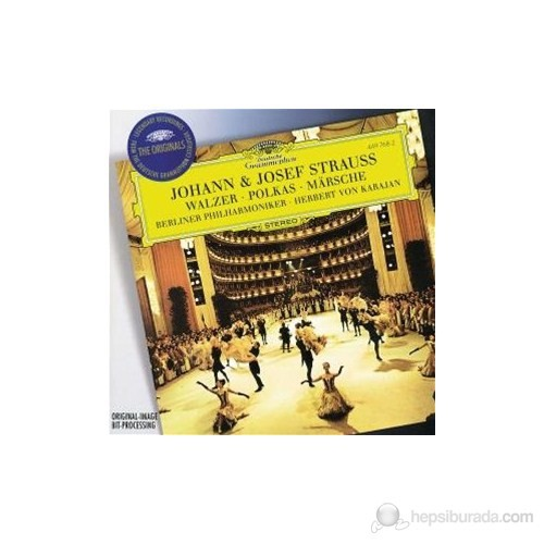 Herbert Von Karajan - Strauss,J And J.:Waltzer And Polkas And Marsche