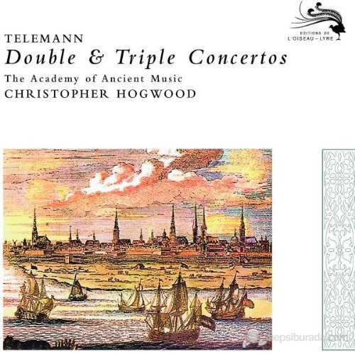 Christopher Hogwood - Telemann: Double And Triple Concertos