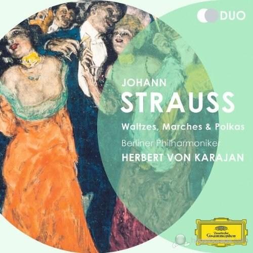 Herbert Von Karajan - Strauss,J.: Waltzes,Marches And Polkas