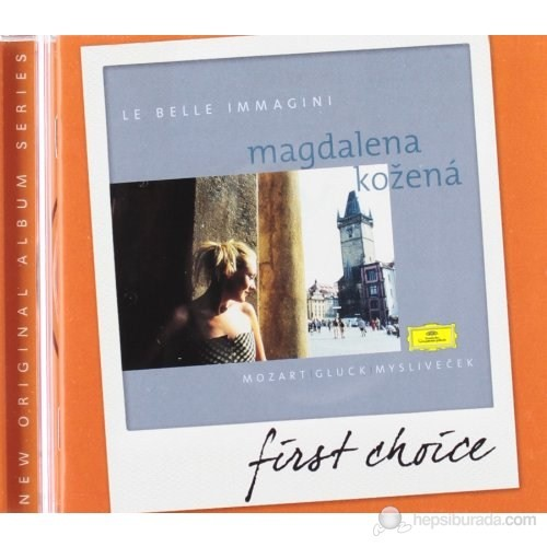 Magdalena Kozena - Le Belle Immagını - Gluck Mozart Myslıvecek