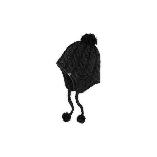 The North Face - W fuzzy earflap beanie Bayan Bere (fw17) Siyah