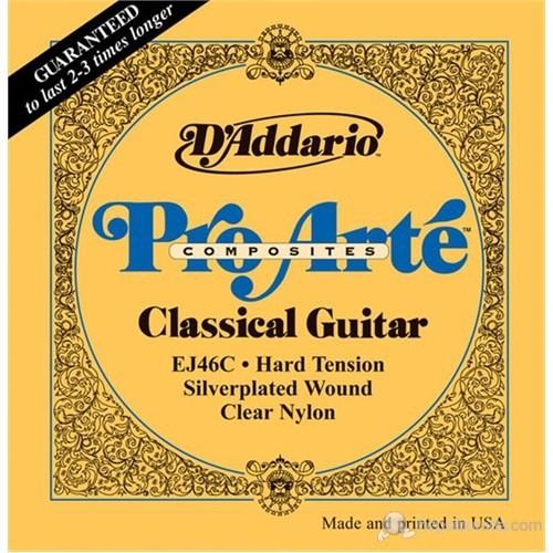 Daddario Ej46C Composite - Hard Tension Klasik Gitar Takım Tel