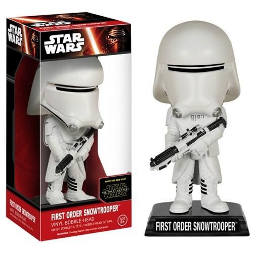Funko Star Wars Ep7 First Order Snowtrooper Wacky Wobbler
