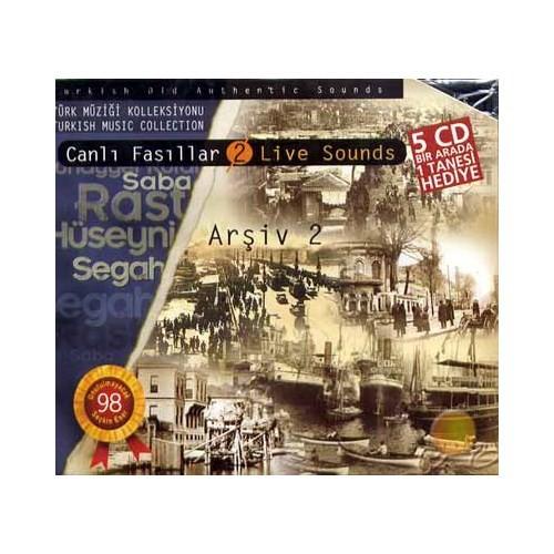 Canlı Fasıl (5 Cd)(arşiv Iı) (cd)